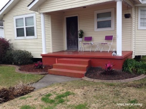 Landscape Overhaul Porch